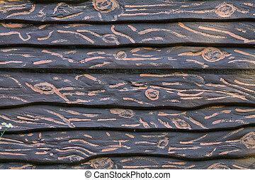 imitation wood background