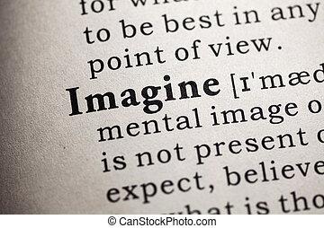 immaginare