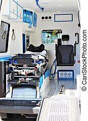 immagine, ambulanza