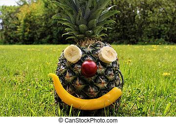 immagine, ananas