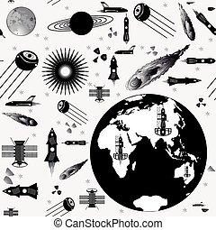 immagine, astronave, modelli