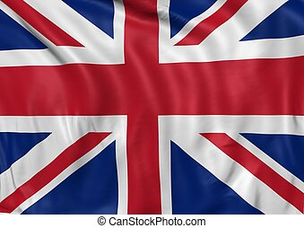 immagine, bandiera, regno unito