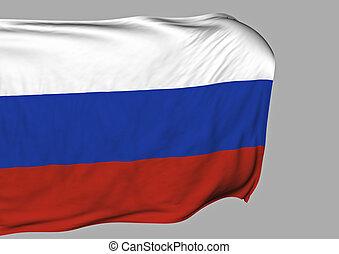immagine, bandiera, russia