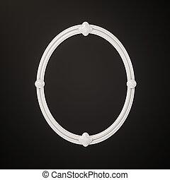 immagine, bianco, contemporaneo, cornice