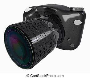 immagine, macchina fotografica, slr, digitale
