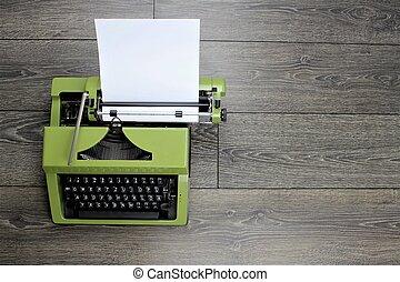 immagine, macchina scrivere