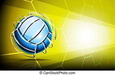 immagine, palla, pallavolo