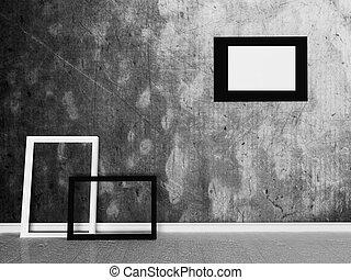 immagine, parete