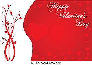 immagine, valentines, fondo