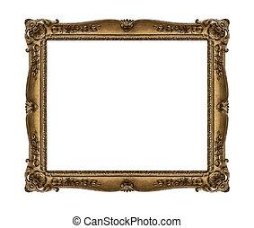 immagine, vecchio, frame.