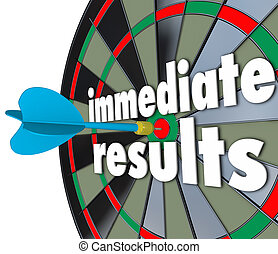 Immediate Results Dart Board Meeting Goal Outcome Now