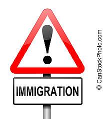 Immigration concept.