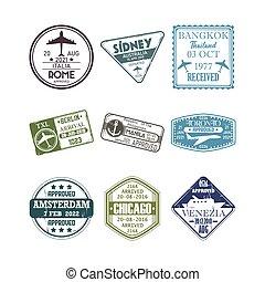 immigration passport stamps