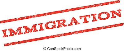 Immigration Watermark Stamp