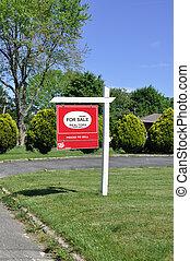 immobilien- zeichen, verkauf