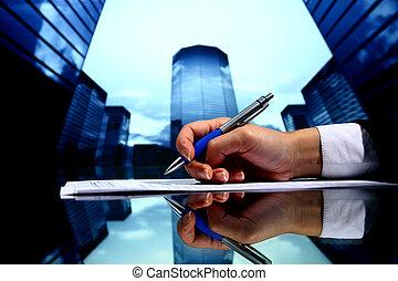 immobilienmakler, arbeit