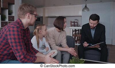 immobiliers, famille, offre, détail, agent, insuran,...