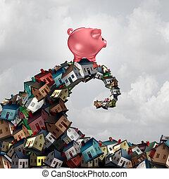 immobiliers, hypothèque