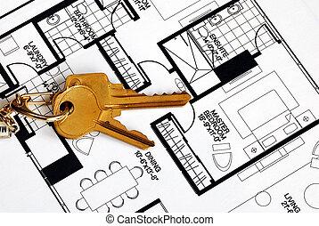 immobiliers, propriété