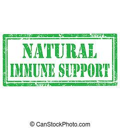 immun, support-stamp, natürlich