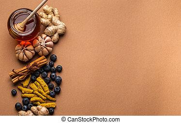 immunity, boosting, alimento