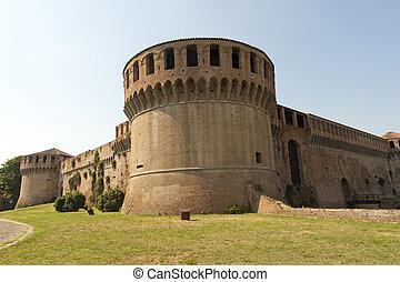 Imola (Bologna, Emilia-Romagna, Italy) - Medieval castle,...