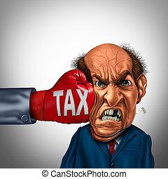 impôt, douloureux