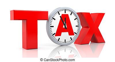 impôt, métaphore