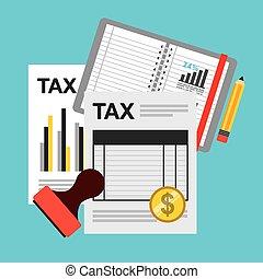 impôt, paiement