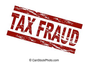 impôt, timbre, -, fraude
