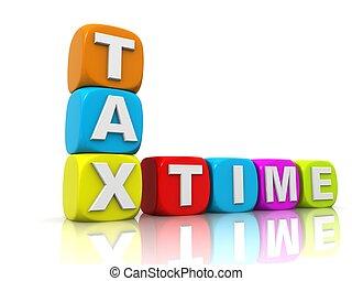 impôts, temps