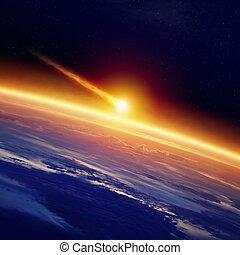 impact, astéroïde