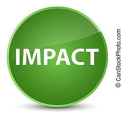 Impact elegant soft green round button
