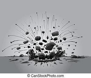 impact, explosif