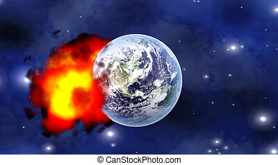 impact, météore