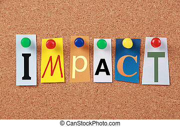 Impact Single Word