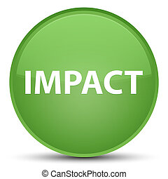 Impact special soft green round button