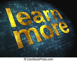 imparare, fondo, digitale, educazione, concept:, più