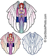 Impatient angel, with bonus variations