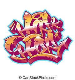 impaurito, graffito, style., hip-hop