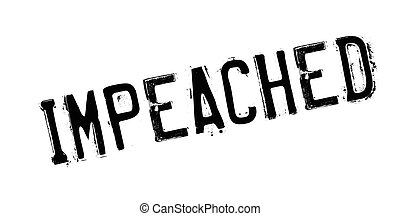 Impeached rubber stamp