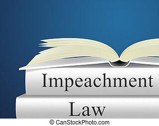 Impeachment Law Books To Remove Corrupt President Or Politician