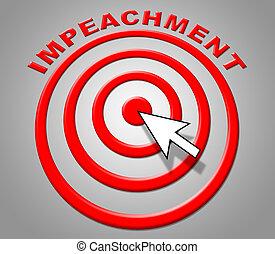 Impeachment Target To Remove Corrupt President Or Politician