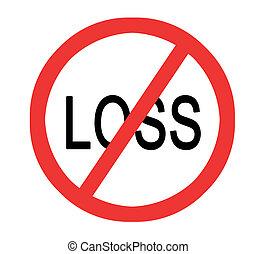 impedir, perda