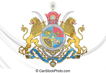Imperial Coat of Arms of Iran
