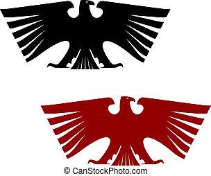 Imperial heraldic eagle