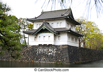 Imperial Palace - Ancient architecture of Japan - Imperial...