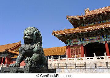 imperial, piedra, ciudad, dinastía, guardián, prohibido,...