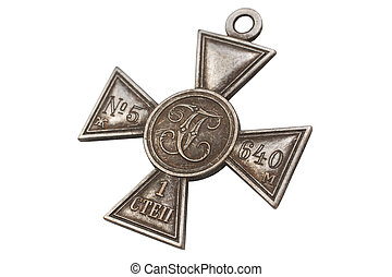 Imperial Russia award - Imperial Cross of Saint George IV...