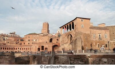Trajan Forum - Imperial Trajan Forum in Rome